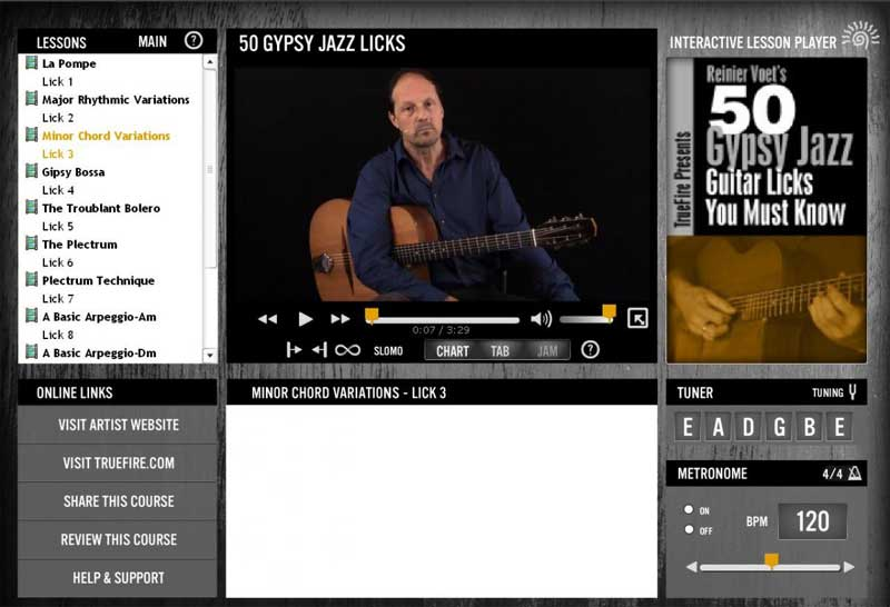 Reinier Voet - 50 Gypsy Jazz Licks You Must Know