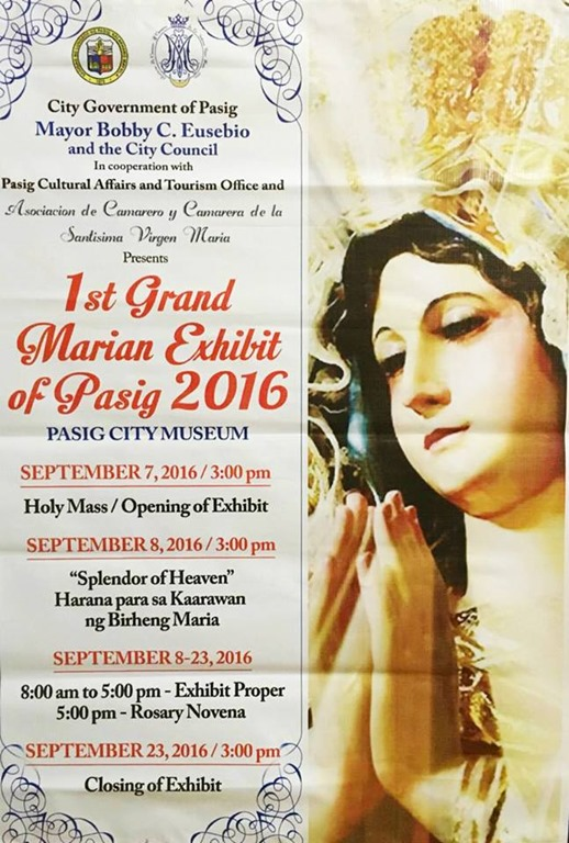 1st Grand Marian Exhibit of Pasig City