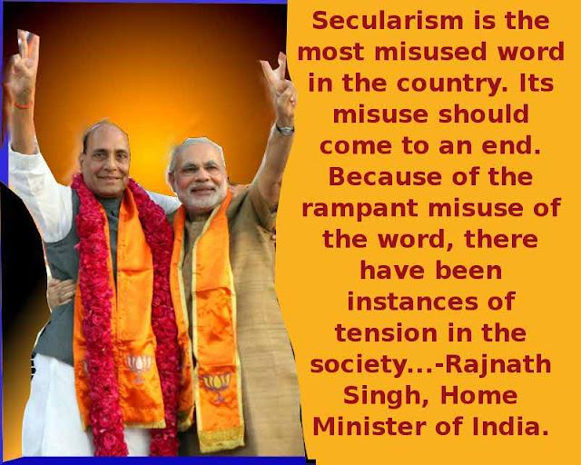 Rajnath Singh & Modi