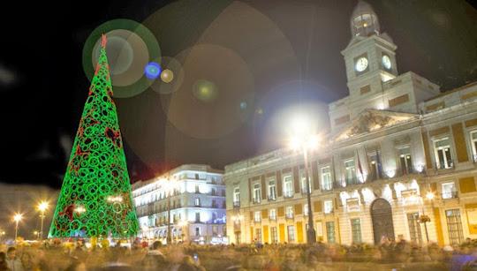 Uvas en la Puerta del Sol