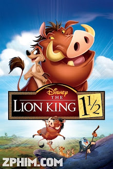 Vua Sư Tử 3 - The Lion King 1½ (2004) Poster