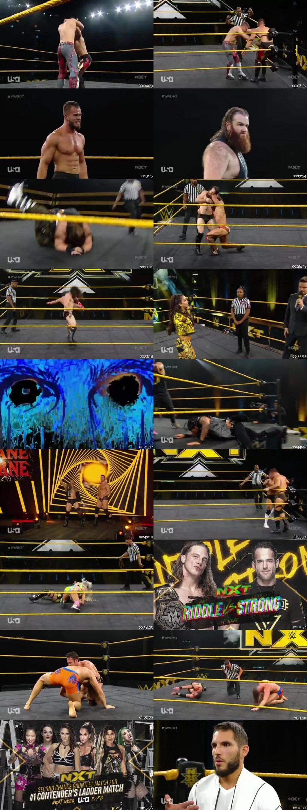 Screen Shot Of WWE NXT 23rd March 2020 HDTV 480P 300MB
