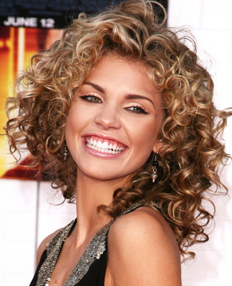 Enjoyable Medium Length Layered Hairstyles For Thick Curly Hair Fashion Qe Hairstyles For Women Draintrainus