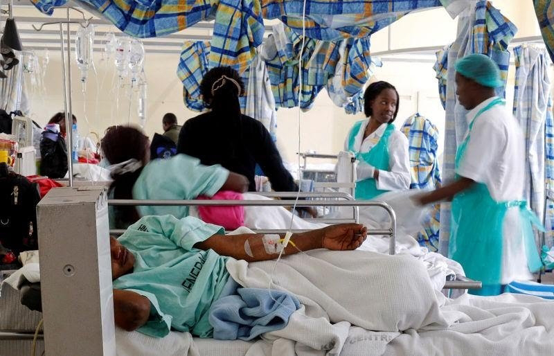 Cholera outbreak in Kenya.