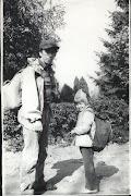 Первые походы с дочкой Аней