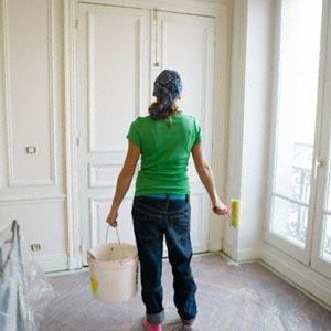 Pintar una puerta pintada - Como pintar una pared ya pintada ...