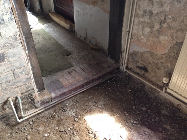 Renovating an old stone cottage: Decommissioning the downstairs ...