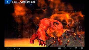 Hulk Vermelho - Moderno
