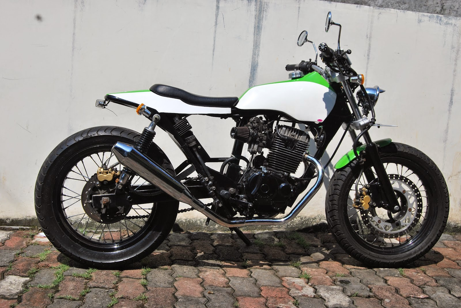Modifikasi Honda Tiger Ala Jap Style