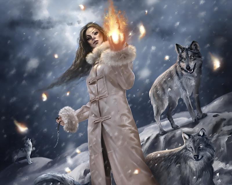 Girl In The Snowfall, Spirit Companion 1