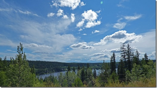 Lake near Prince George, Yellowhead Highway