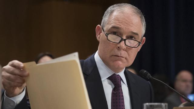 EPA Administrator Scott Pruitt. Photo: Associated Press