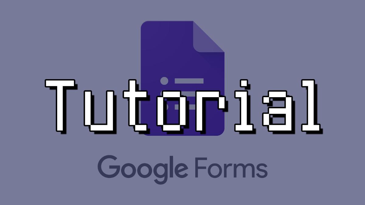 tutorial google forms en blog