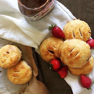 Strawberry Nutella hand pies (gf)