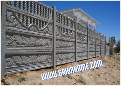 Desain tembok yang sesuai