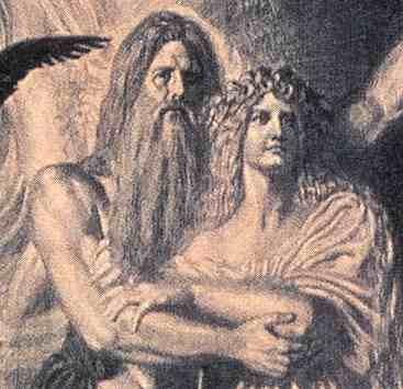 Odin And Frigg, Asatru Gods And Heroes