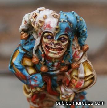 foto Bufón zombi