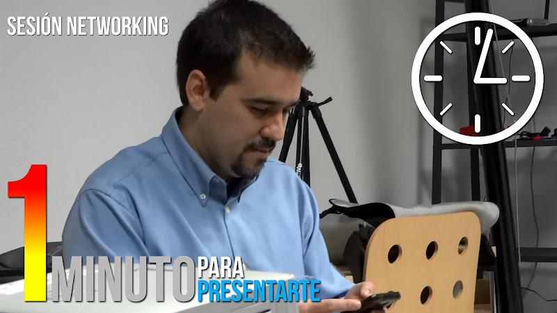 Rafael Jiménez, cronométro, 1 minuto, networking, coSfera, córdoba