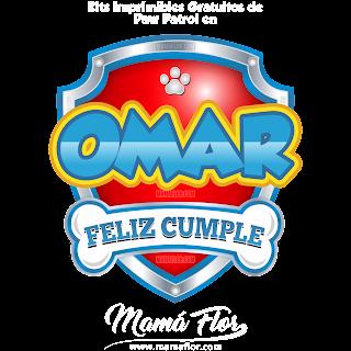 Logo de Paw Patrol: OMAR