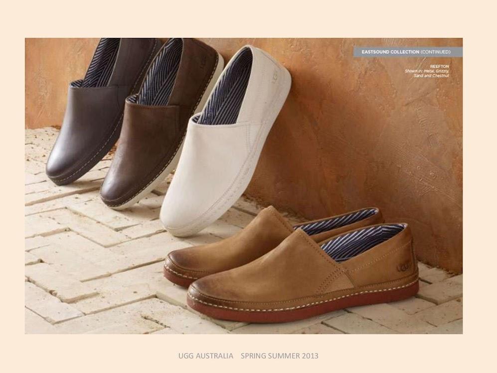 887078bf6f7 Moda Ellos  Colección zapatos hombre UGG Australia primavera verano 2013