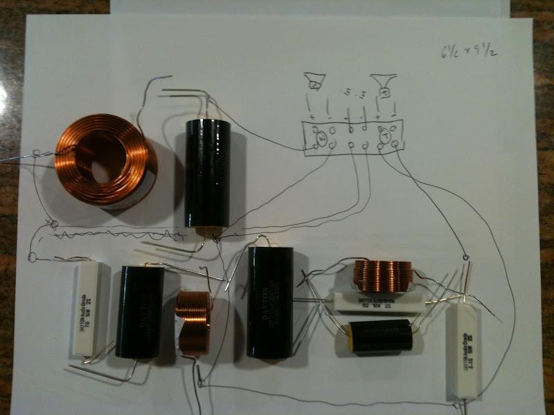 Crossover Circuit Diagram Crossover Design Using Online Crossover