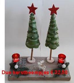 duo kerstboom prijs