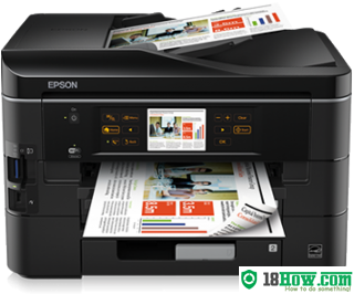 How to reset flashing lights for Epson BX935FWD printer