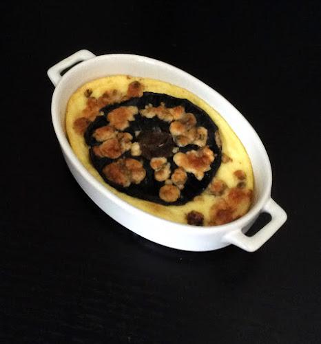 Grzyby, pieczarka portabello, polenta, ser pleśniowy niebieski, grzyby pieczone przepis