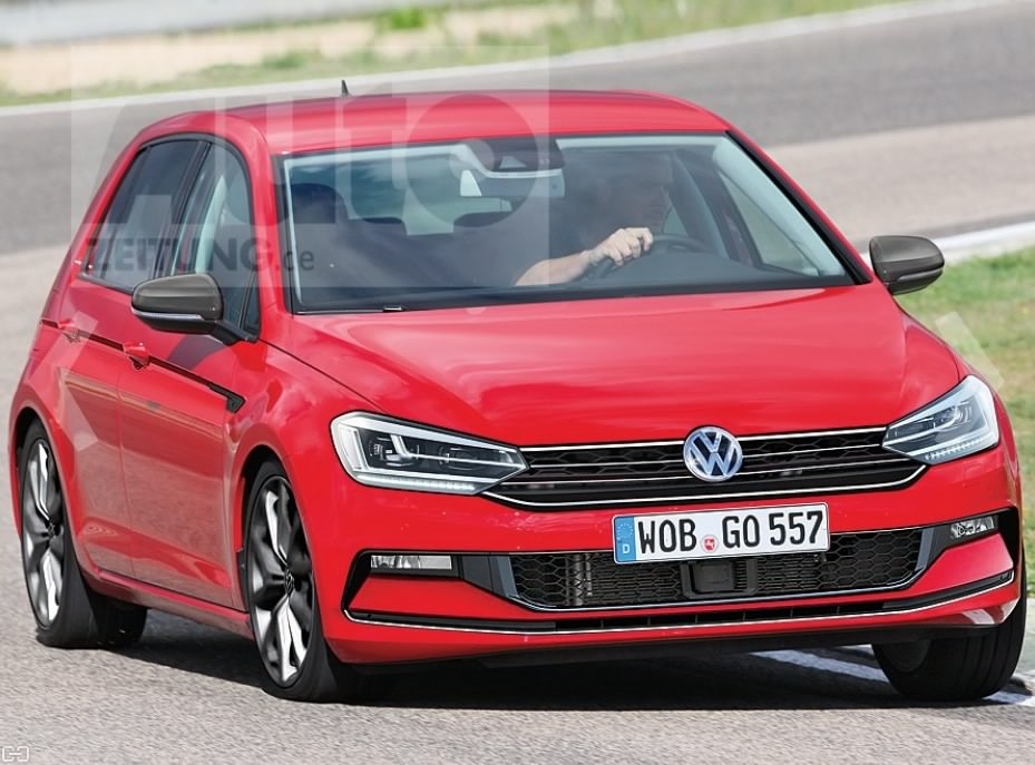 the 2019 volkswagen golf 8 gti refreshing or revolting. Black Bedroom Furniture Sets. Home Design Ideas