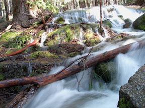A small creek on the John Muir Trail