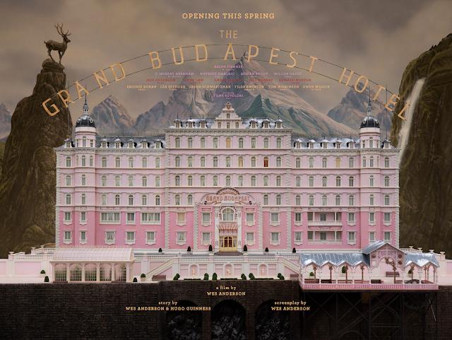 Ξενοδοχείο Grand Budapest The Grand Budapest Hotel Wallpaper