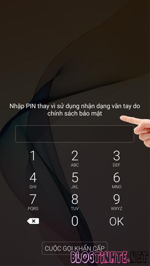 Lỗi không nhận vân tay trên Samsung Galaxy J7 Prime