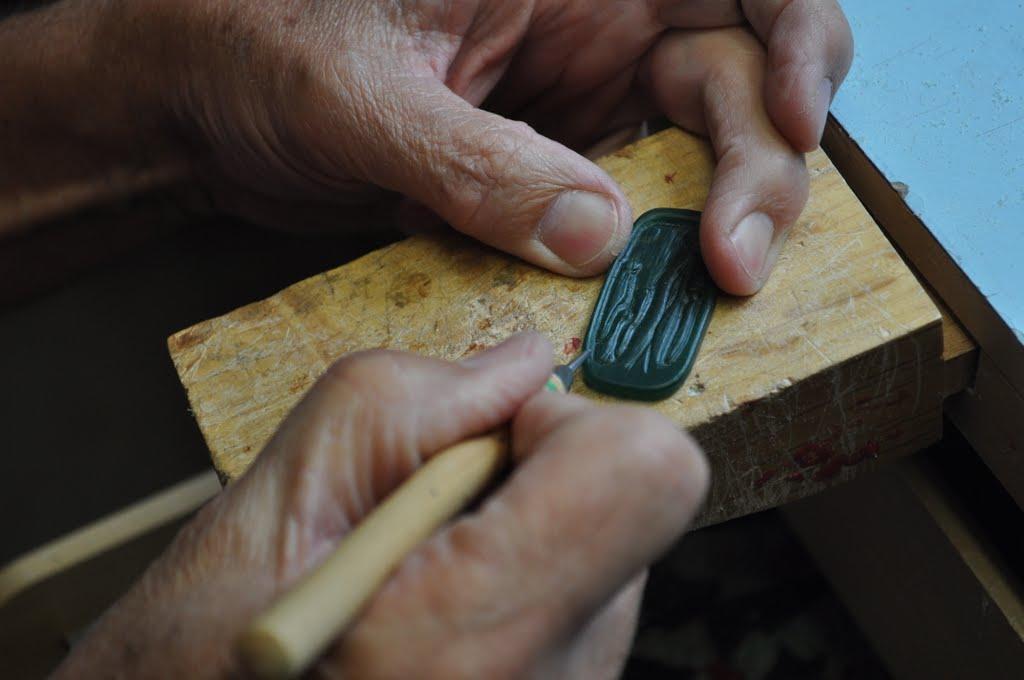 Carve Design into Wax