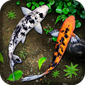 Fish Live Wallpaper: Aquarium Koi fish Backgrounds icon