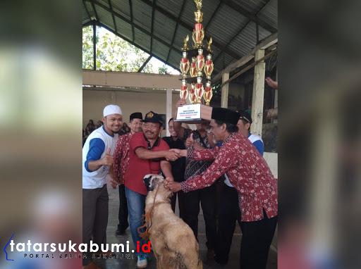 Juara Umum Pekan Olah Raga Siswa, SDN 1 Tipar Boyong Domba Jantan