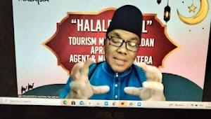 Jalin Silaturahmi, Tourism Malaysia Medan- Penggiat Pariwisata dan media Halal Bi Halal Virtual