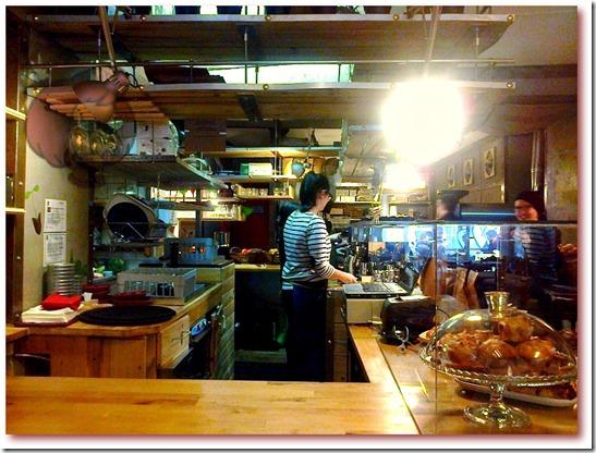 Foto do interior da loja Fábrica - Coffee Roasters, Lisboa
