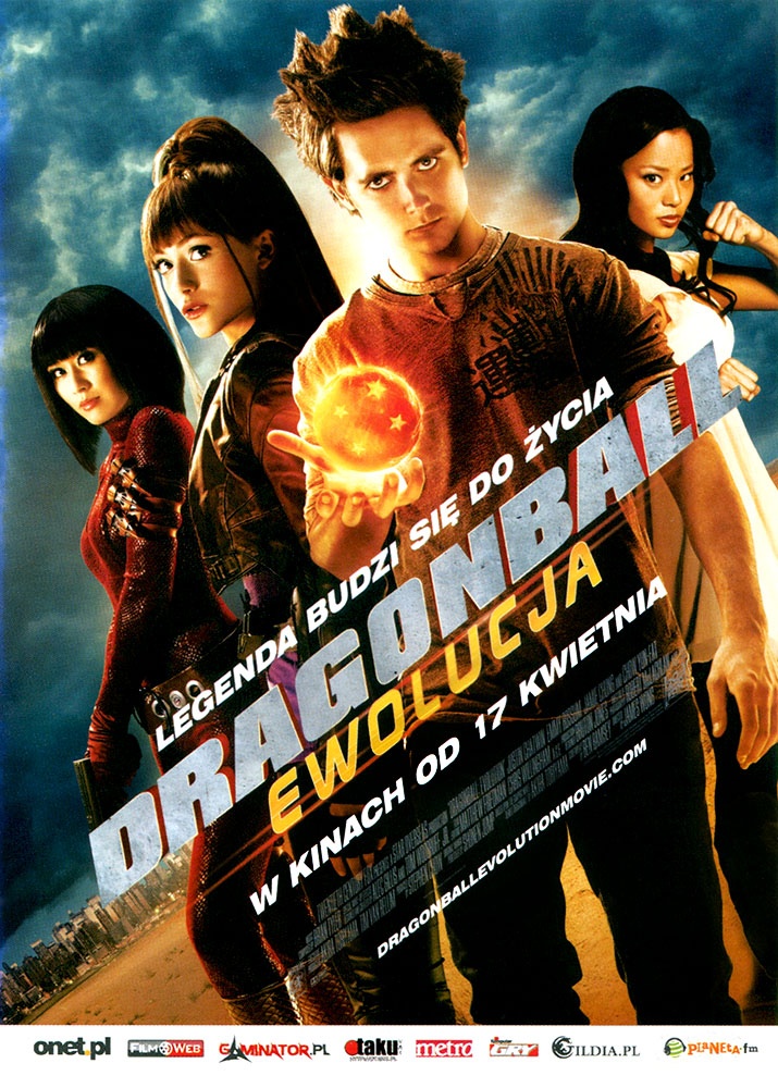 Ulotka filmu 'Dragonball: Ewolucja (przód)'