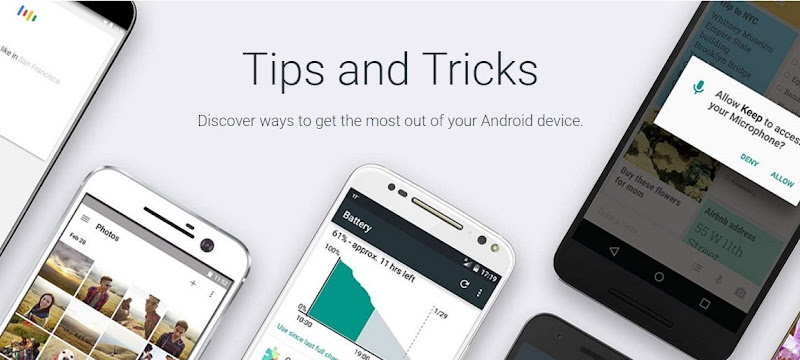 android tips anda tricks dedicated website