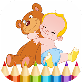 Kids Coloring Book and Game