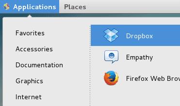Open Dropbox
