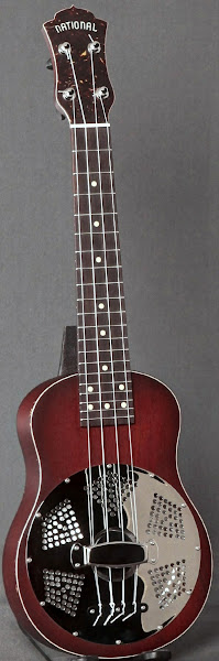 National Reso-Phonic mahogany Concert