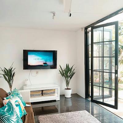 Ruang tv cantik minimalis