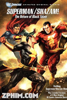 Superman Shazam: Sự Trở Lại Của Black Adam - Superman/Shazam!: The Return of Black Adam (2010) Poster