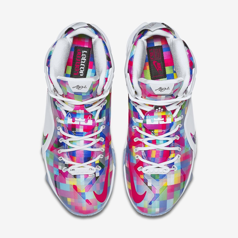 2815f9005bad ... LeBron 12 EXT Fruity Pebbles Official Look amp Release Info