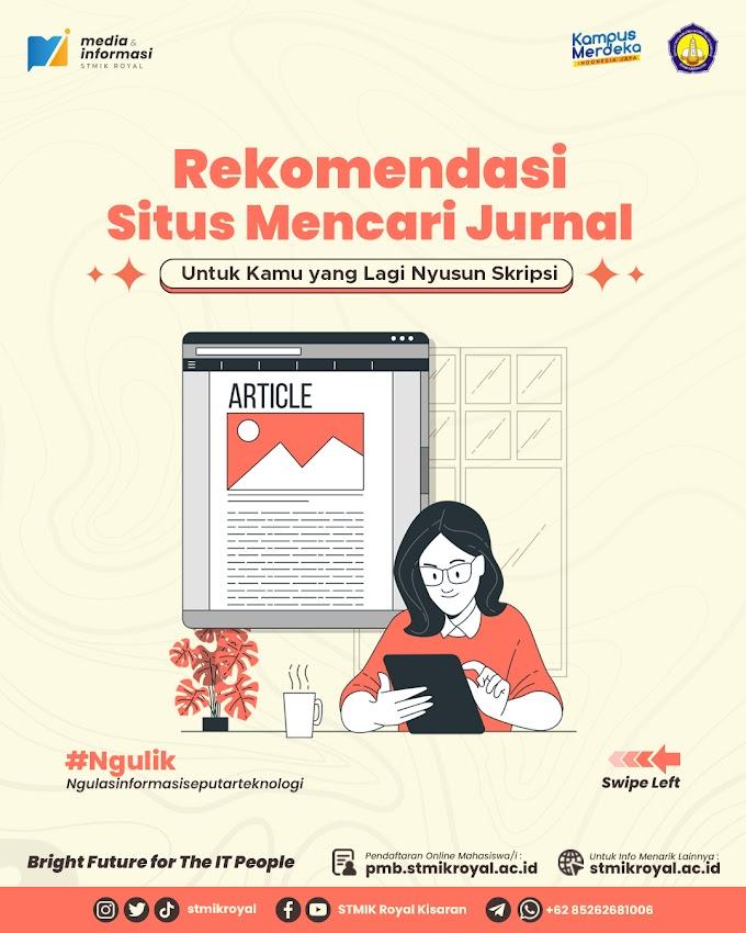 Rekomendasi Situs Jurnal untuk Skripsi
