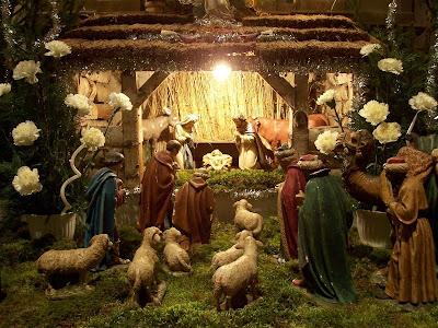 Quem partiu o pastor do presépio?
