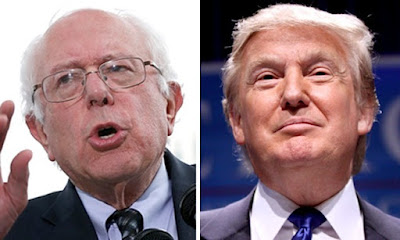 Media claim Sanders leads Trump in new shock polls