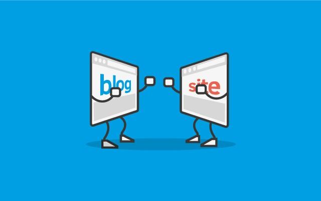 Hinh anh: Blog va website co giong nhau khong