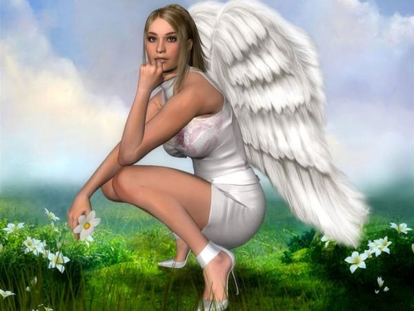 White Angel Thinking, Angels
